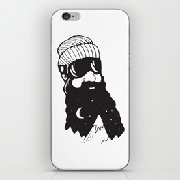 Snow Man iPhone Skin