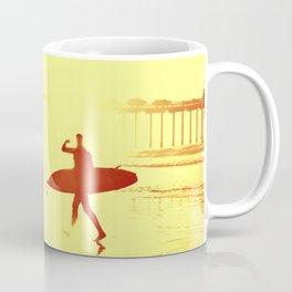 The Shadow Surfer Coffee Mug