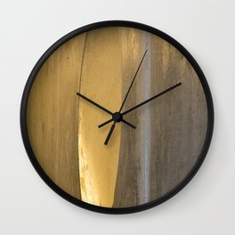 abstract right or left Wall Clock