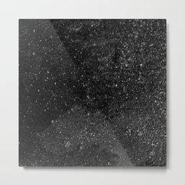 DARK GRUNGE TEXTURE III Metal Print