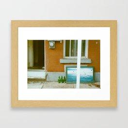 Montreal Lingers Framed Art Print