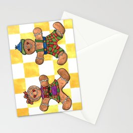 The Gingerbread Twins Stationery Cards