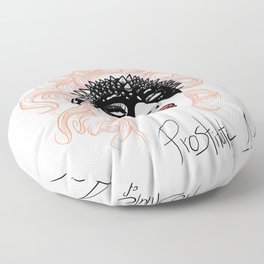 Prostitute of Art Floor Pillow