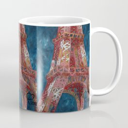 Eiffel Tower by Lu Coffee Mug