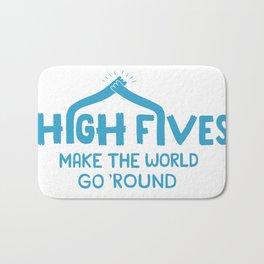 Hi-Fives Bath Mat