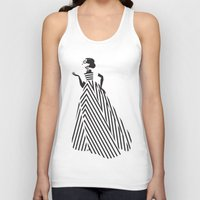 dress Tank Tops featuring Dress by Yordanka Poleganova