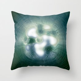Liquid Gateway Throw Pillow
