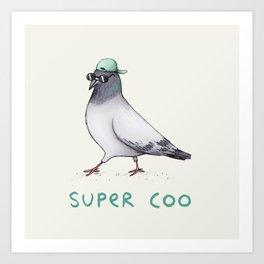 Super Coo Art Print