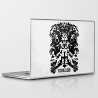 starfox Laptop & iPad Skins featuring Fox McCloud Star Fox Inspired Geek Psychological Inkblot by Barrett Biggers