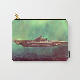 Golden Pirate Submarine Carry-All Pouch