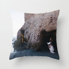 The mermaid that lost her tail Throw Pillow