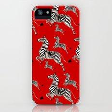 Zebras Slim Case iPhone (5, 5s)