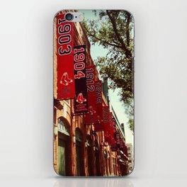 Fenway Gate A iPhone Skin