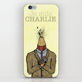 Je suis Charlie iPhone Skin
