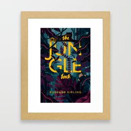 The Jungle Book Framed Art Print