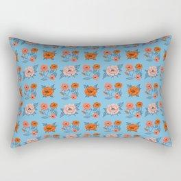 Classic Roses Rectangular Pillow