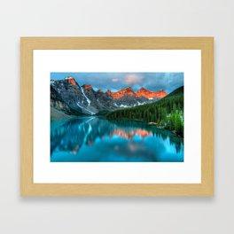 Moraine Framed Art Print
