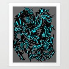 Echo Astral  Art Print
