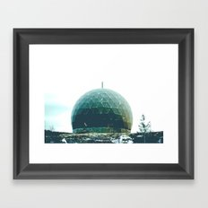 spy dome. Framed Art Print