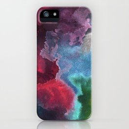 Landscape of my meandering mind iPhone Case