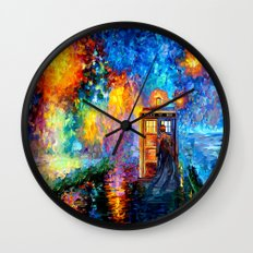 The 10th Doctor who Starry the night Art painting iPhone 4 4s 5 5c 6, pillow case, mugs and tshirt Wall Clock