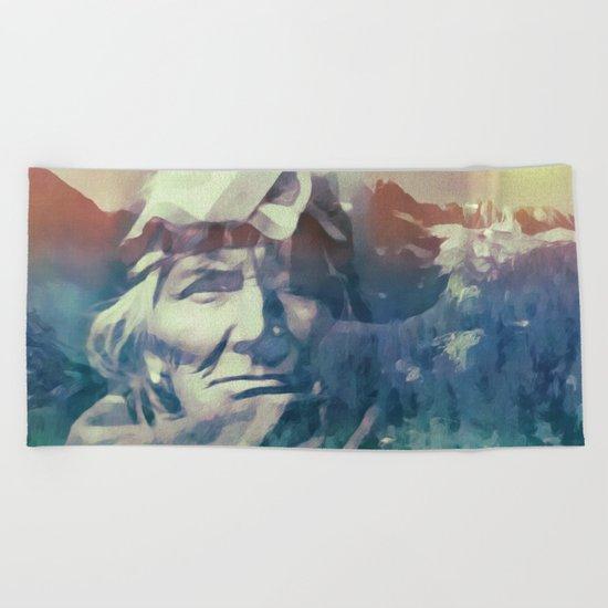 America Beach Towel