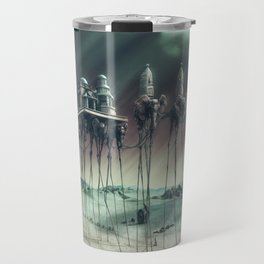 -Caravan Dali- GREEN Travel Mug