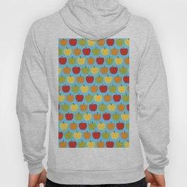 Apples Over Blue Hoody
