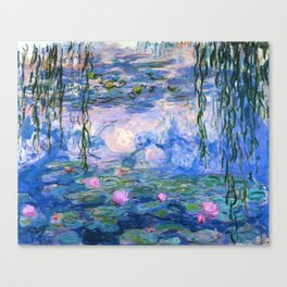 Water Lilies Monet Canvas Print