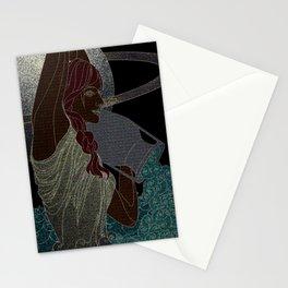 Aquarius #5 Stationery Cards