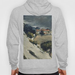 "Paul Cezanne ""Melting Snow At L'Estaque"" Hoody"
