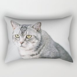 Cat, Portrait Rectangular Pillow
