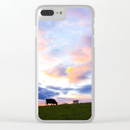 Sonoma County Sunset Clear iPhone Case