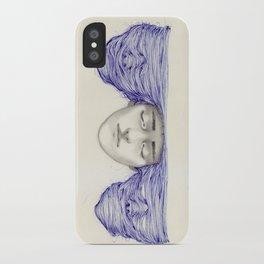 Sunset and schizophrenia  iPhone Case