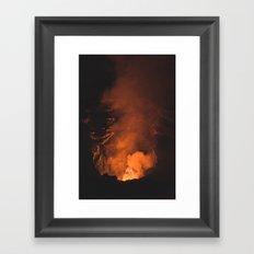 Volcan Masaya, Nicaragua Framed Art Print