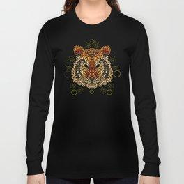 Tiger Face Long Sleeve T-shirt