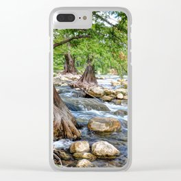 Guadalupe River in Texas Clear iPhone Case