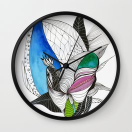From the Moth(er) serie 1 Wall Clock