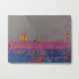 The Siege of the Parliament in May - shoes stories Metal Print