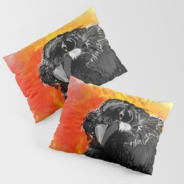 Curious Crow Pillow Sham
