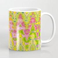 lace Mugs featuring Lace by Ingrid Padilla