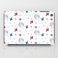 airplanes iPad Cases featuring Little Toy Airplanes on White by Art Tree Designs