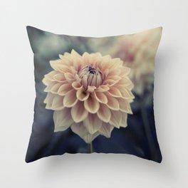 Dahlia Flower No. 3 Throw Pillow