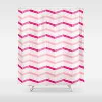 trip Shower Curtains featuring Trip by Jessicah Halliday