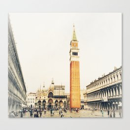 la Piazza Canvas Print