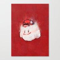 mario Canvas Prints featuring Mario by Ronan Lynam