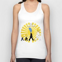 simpson Tank Tops featuring Simpson Sun by sgrunfo
