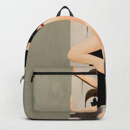 Elegant Model Flow Backpack