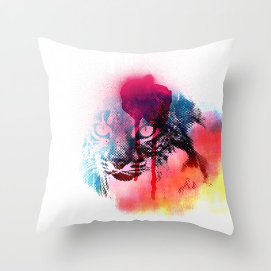 LINCE Throw Pillow
