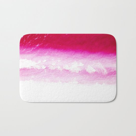Abstract Ocean Bath Mat